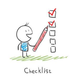 checklist blog